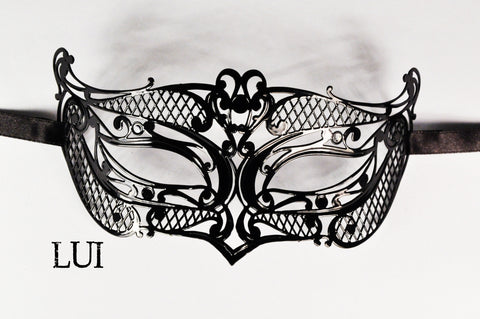 Lui Filigree Metal Mask