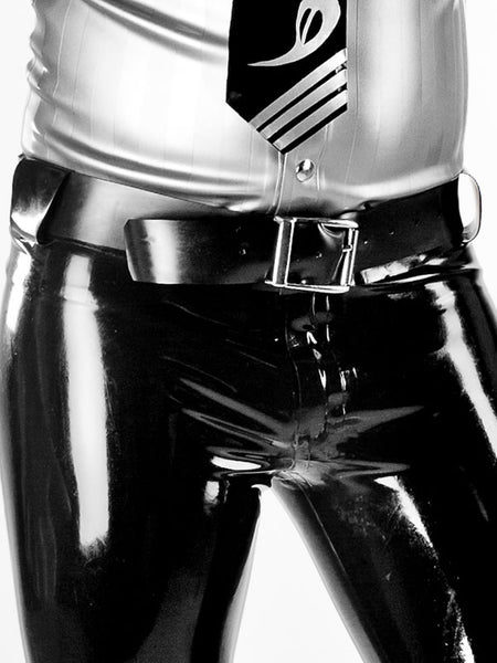 Latex Standard Buckle Belt
