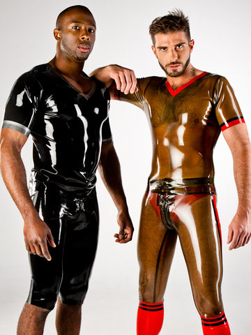 Men's Latex Football Shirt