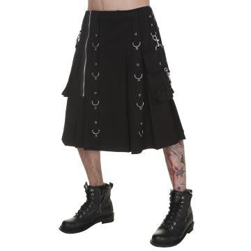 Cuffs Punk Black Kilt