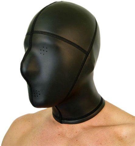 Neoprene Hood Pinhole Eyes and Mouth