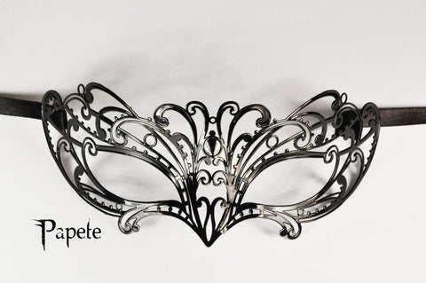 Papete Filigree Metal Mask
