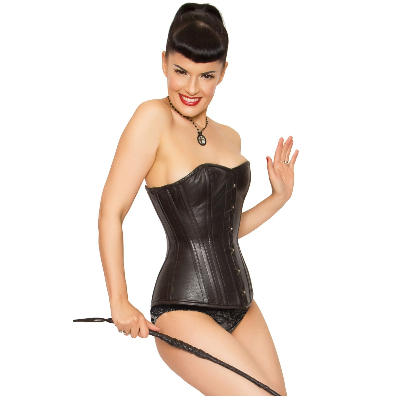 Leather Overbust Corset