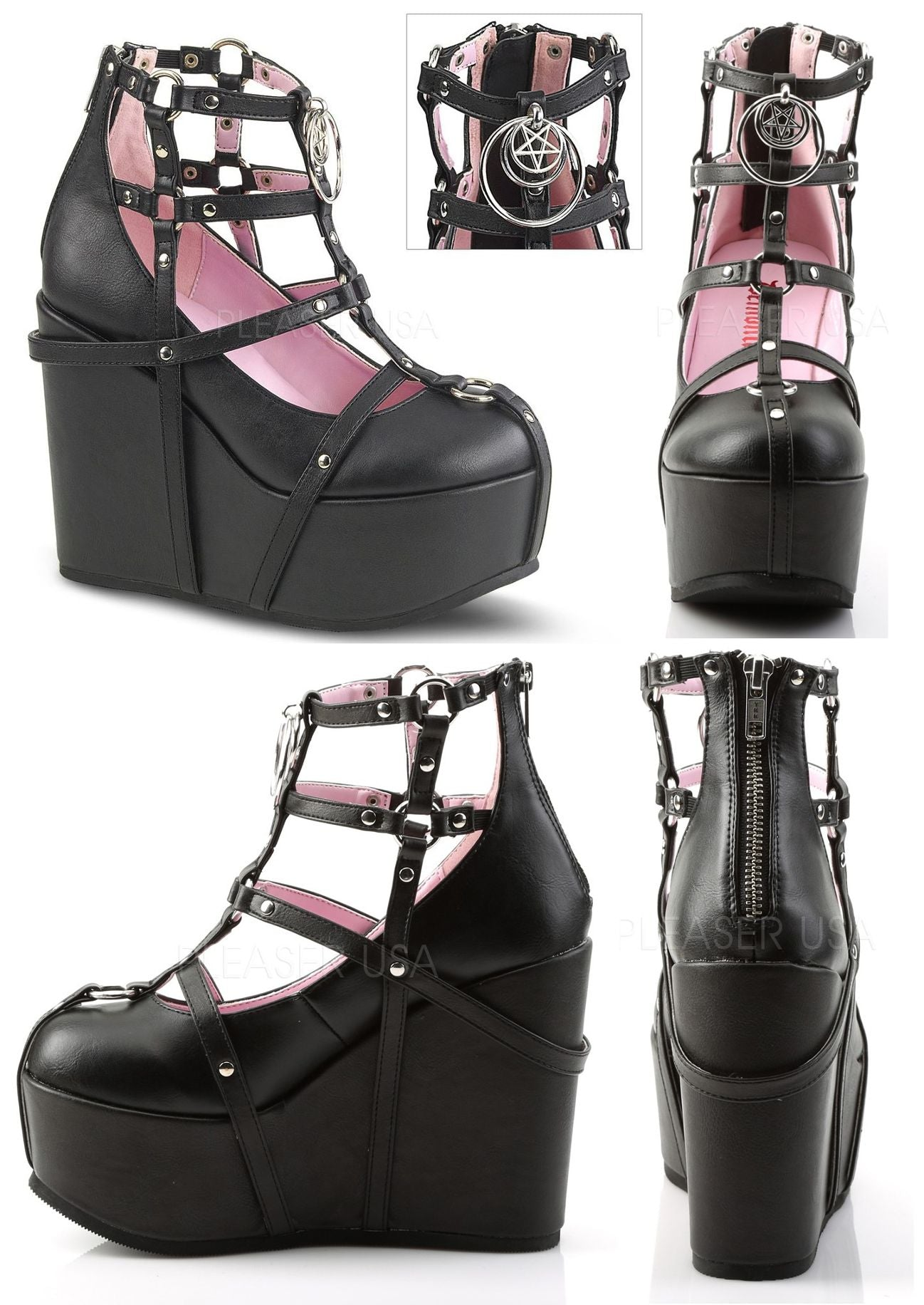 Poison Cage Bootie