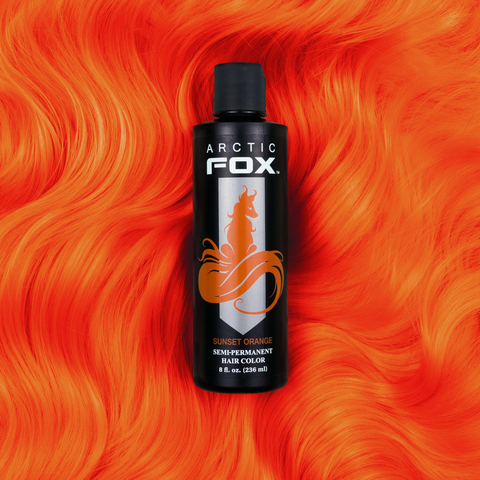 Arctic Fox Hair Dye - Sunset Orange