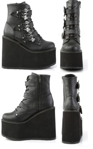 Swing Bat Ankle Boots