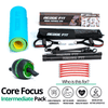 Get a personalized home gym pack that will cover all your needs from anywhere in the world! The Redge Fit Core Focus Intermediate Pack will help you reach your fitness goals 10x faster workout from anywhere in the world. Strengthen your full body and become master of your fitness journey! This bundle includes: Redge Portable Gym Machine Yoga Matt AB Roller Pro Size Chart: Size Waistline (Inches) Width (Inches) S 35.5 8.8 M 39.5 8.8 L 43.5 8.8 XL 47 8.8 XXL 51 8.8