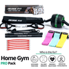 Get a personalized home gym pack that will cover all your needs from anywhere in the world! Become the master of your fitness journey with the Home Gym Pro Pack. Reach fitness goals 10x faster with the Home Gym Pro Pack. This bundle includes: Redge Portable Gym Machine, Set of 3 Fabric Resistance Bands, and AB Roller Pro Size Chart: Size Waistline (Inches) Width (Inches) S 35.5 8.8 M 39.5 8.8 L 43.5 8.8 XL 47 8.8 XXL 51 8.8