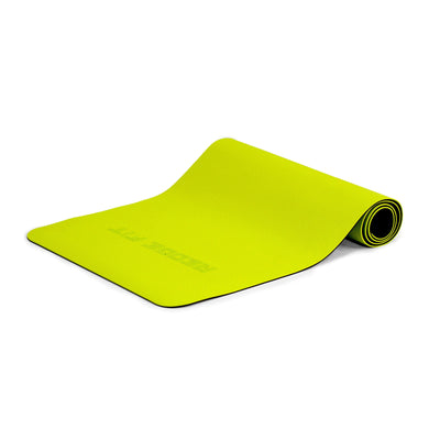 The perfect at-home or on-the-go workout accessory, the Redge Workout Mat is an eco-friendly mat, designed with double-layer anti-tear, non-slip texture, cushioning, and resilience. This extra-large mat is perfect for any type of exercise! Available at https://www.getredge.com/products/redge-double-sided-workout-mat