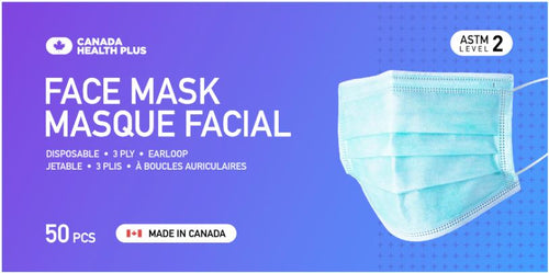 [Best Quality Surgical & Non-Surgical Face Masks Made In Canada]-Canada Health Plus