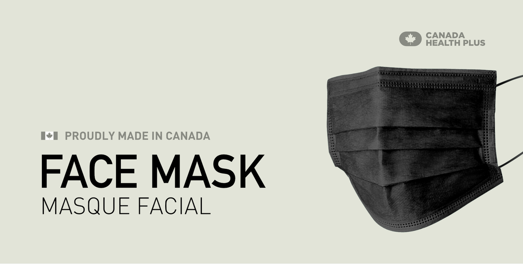Canadian Manufactured Disposable Face Mask 50 pcs per box