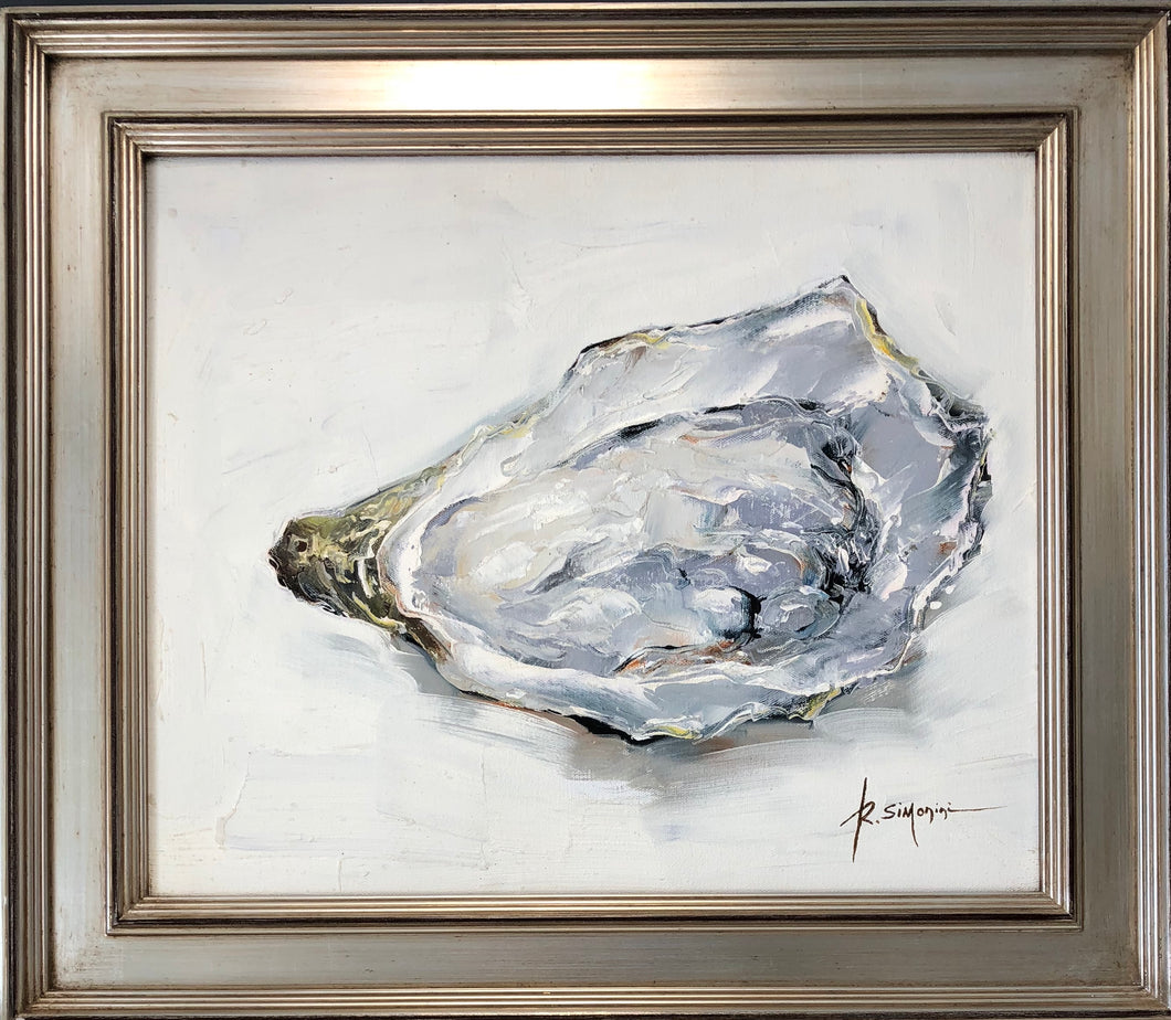 One Single Oyster Painting