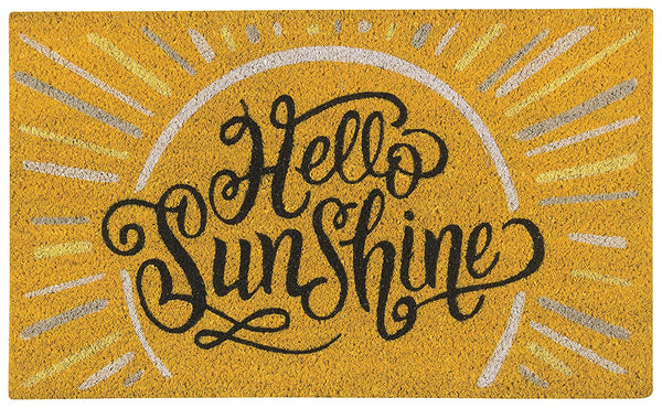 Hello Sunshine Outdoor Mat