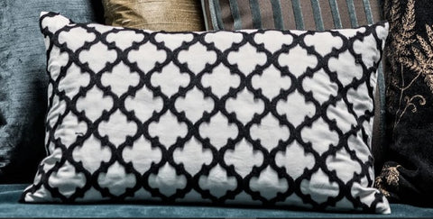Bazar Blue Pillow
