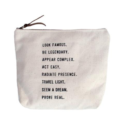 Look Famous Canvas Bag