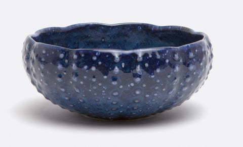 Dark Blue Sea Urchin Bowl