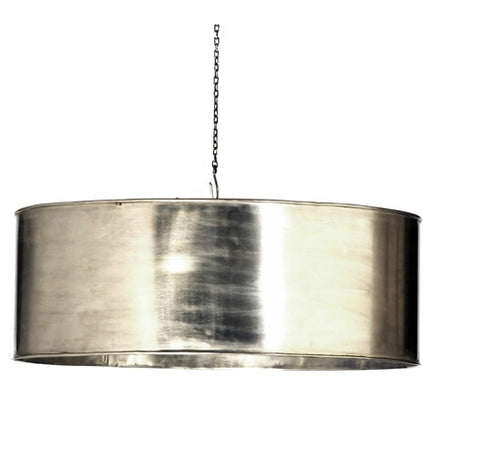Round Metal Hanging Light