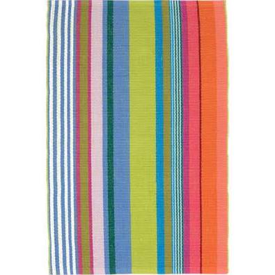 Multi Color Stripe 2X3 Rug