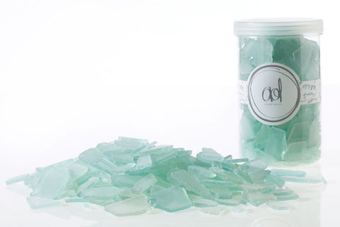 Seafoam Sea Glass Decor