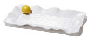 Vida Havana Rectangular Platter - white - long