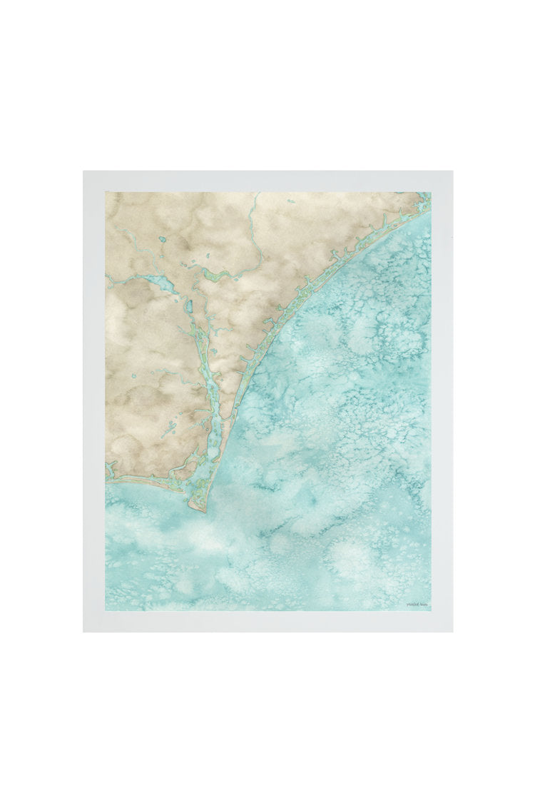 Cape Fear Watercolor Print