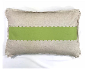 April Lime Pillow