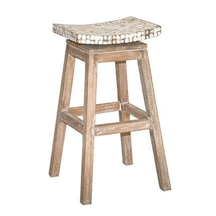 Cordova Bar Stool with Coconut Top
