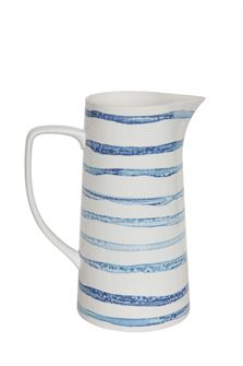 Blue Striped Pitcher