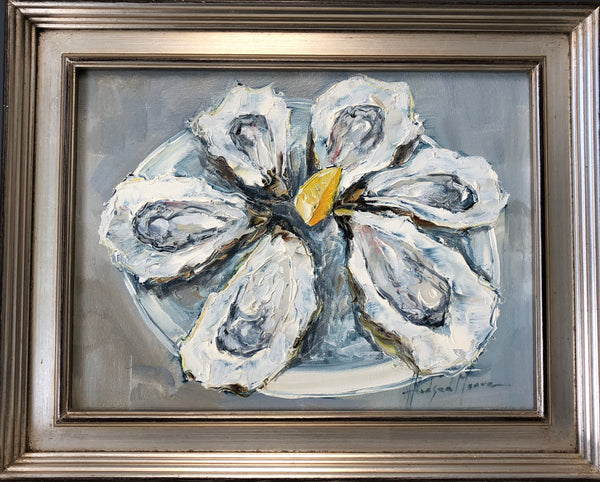 Oyster Platter Painting