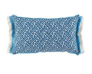 Trellis Cobalt Pillow