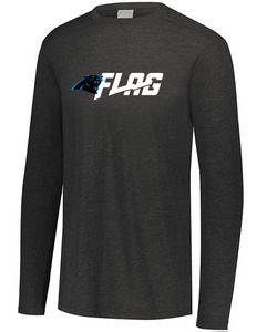 Long Sleeve Tri Blend - Adult - Carolina Panthers