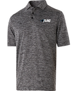 Heathered Polo - Carolina Panthers