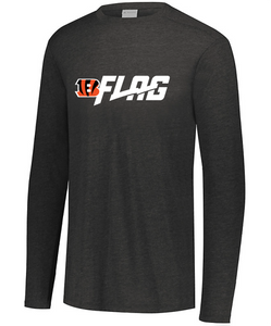 Long Sleeve Tri Blend - Youth - Cincinnati Bengals