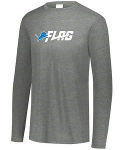 Long Sleeve Tri Blend - Youth - Detroit Lions