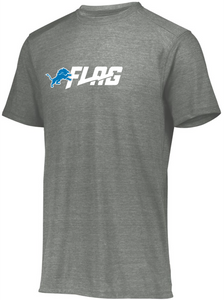 Tri Blend T Shirt - Ladies - Detroit Lions