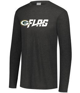 Long Sleeve Tri Blend - Youth - Green Bay Packers
