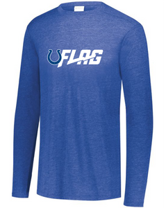 Long Sleeve Tri Blend - Adult - Indianapolis Colts