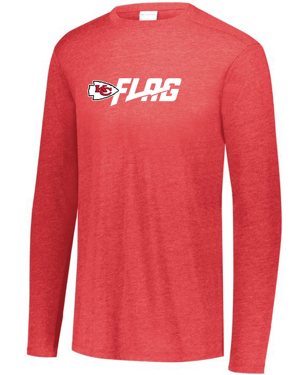 Long Sleeve Tri Blend - Adult - Kansas City Chiefs