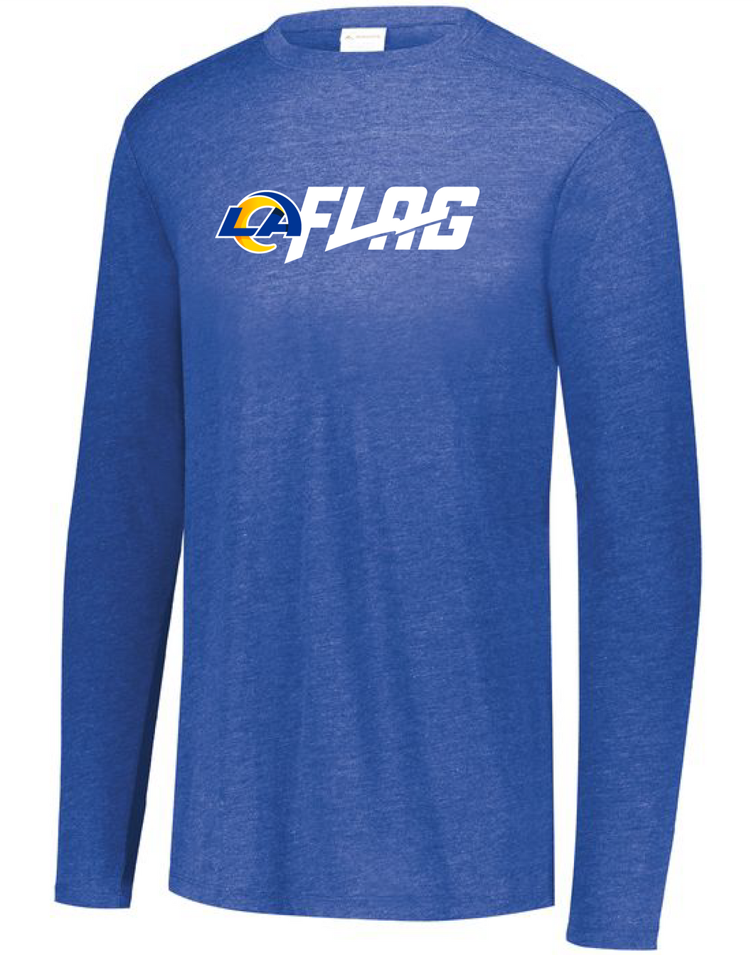 Long Sleeve Tri Blend - Youth - Los Angeles Rams