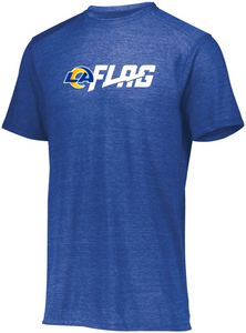 Tri Blend T Shirt - Ladies - Los Angeles Rams