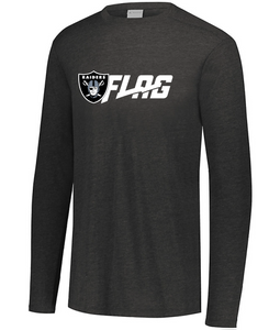 Long Sleeve Tri Blend - Youth - Las Vegas Raiders