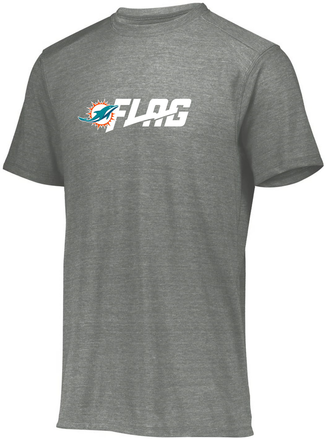 Tri Blend T Shirt - Ladies - Miami Dolphins