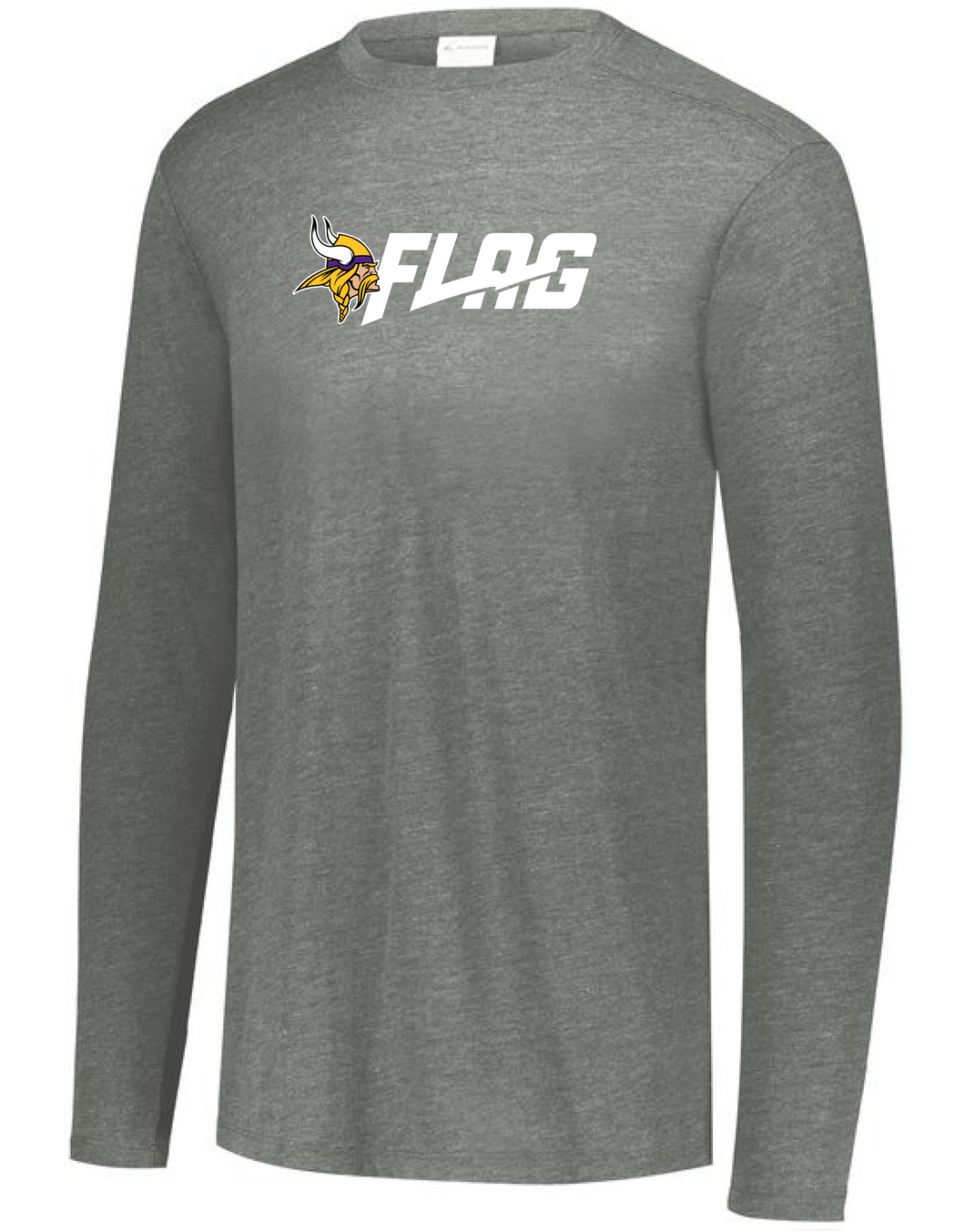 Long Sleeve Tri Blend - Adult - Minnesota Vikings