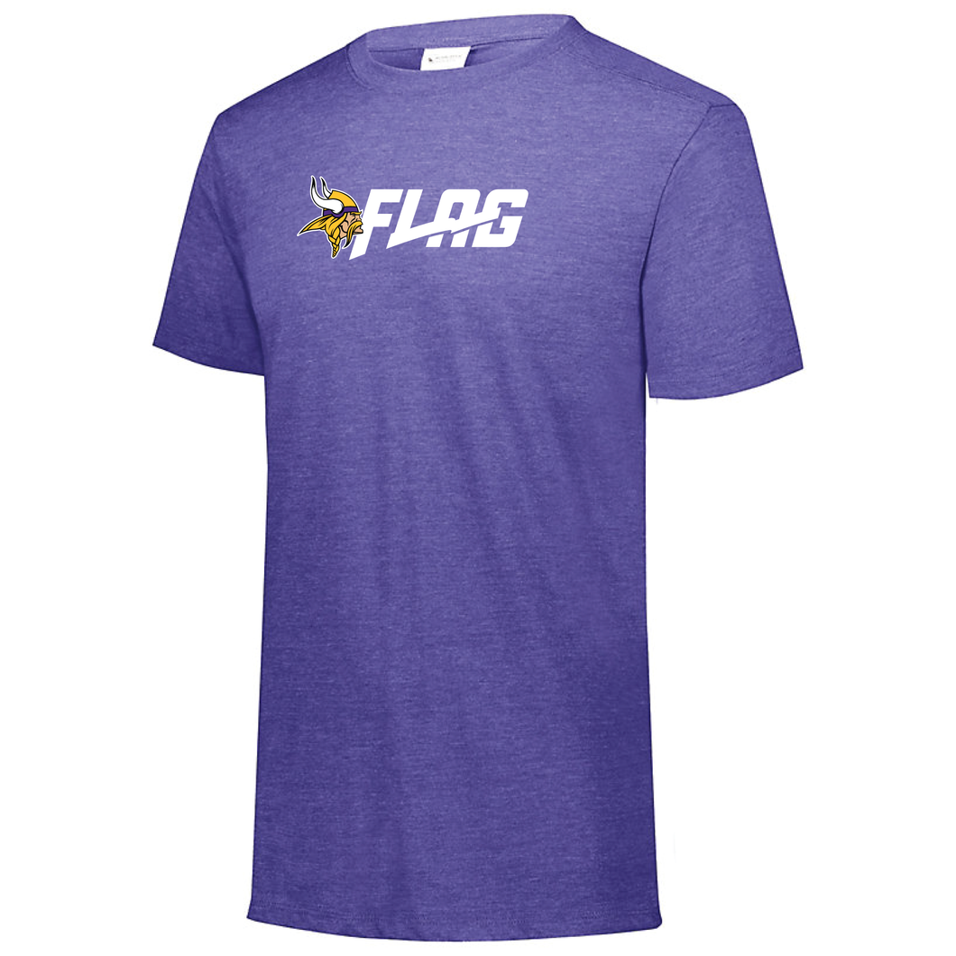 Tri Blend T Shirt - Ladies - Minnesota Vikings