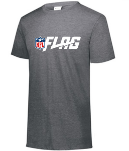 Tri Blend T Shirt - Ladies - NFL FLAG