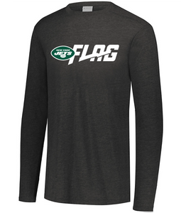 Long Sleeve Tri Blend - Youth - New York Jets