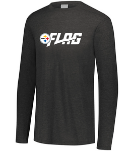 Long Sleeve Tri Blend - Youth - Pittsburgh Steelers