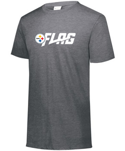 Tri Blend T Shirt - Youth - Pittsburgh Steelers