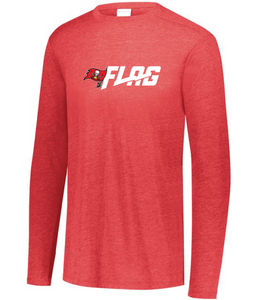 Long Sleeve Tri Blend - Youth - Tampa Bay Buccaneers