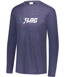 Long Sleeve Tri Blend - Youth - Tennessee Titans